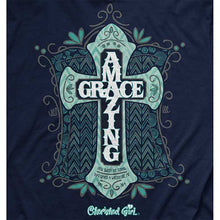 Load image into Gallery viewer, Amazing Grace Christian T-Shirt - Science On Supply