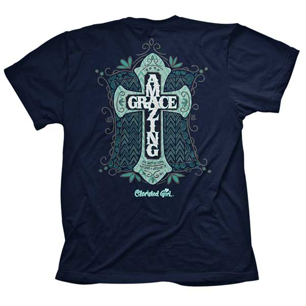 Amazing Grace Christian T-Shirt - Science On Supply