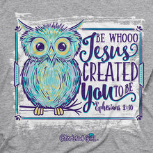 Load image into Gallery viewer, Cherished Girl Whoo Jesus T-Shirt - Science On Supply