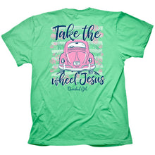 Load image into Gallery viewer, Cherished Girl® Womens T-Shirt Jesus Take The Wheel - Science On Supply