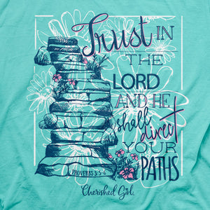 Cherished Girl® Womens T-Shirt Proverbs 3 - Science On Supply