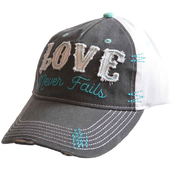 Cherished Girl Womens Cap Love Never Fails - Science On Supply