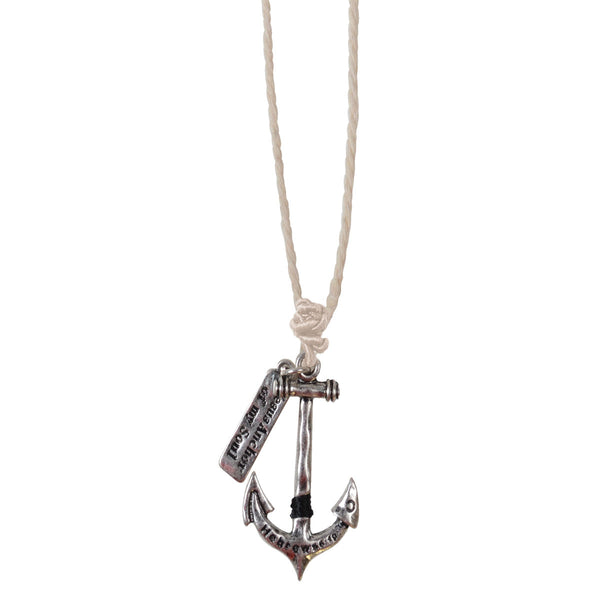 Faith Gear Anchor Of My Soul Mens Necklace - Science On Supply