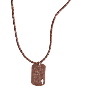 Faith Gear Fear No Evil Mens Necklace - Science On Supply