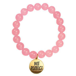Faith Gear Not Perfect Womens Bracelet - Science On Supply