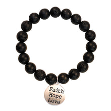 Load image into Gallery viewer, Faith Gear Faith Hope Love Womens Bracelet - Science On Supply