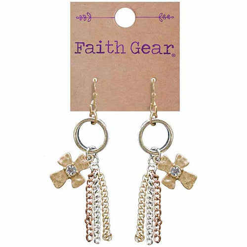 Tassel Crosses Women's Earrings - Science On Supply