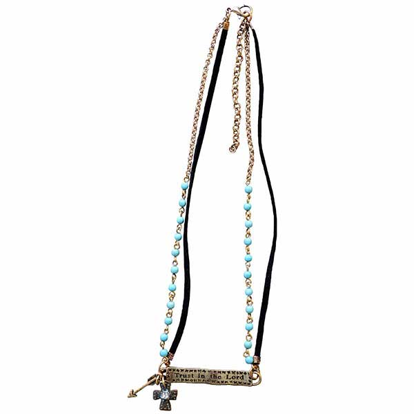 Trust In The Lord Women's Necklace - Science On Supply
