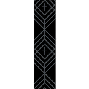 Kerusso® Diamond Cross Guitar Strap - Science On Supply