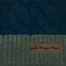 Load image into Gallery viewer, grace & truth Womens Beanie Faith Hope Love - Science On Supply
