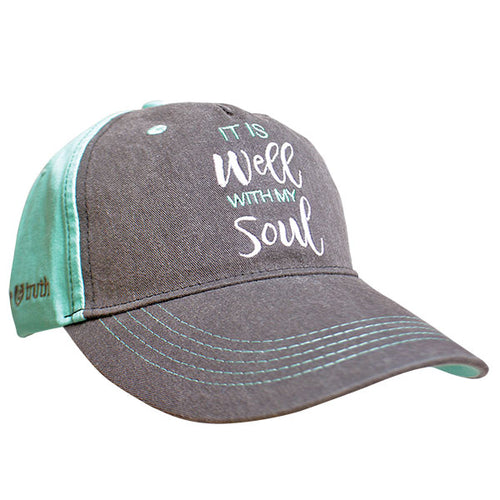 grace & truth® Womens Hat It Is Well With My Soul - Science On Supply