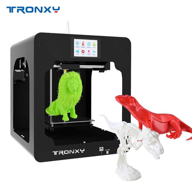 Tronxy C2 Desktop High Precision 3D Printer DIY Kits with Touch Screen for Children Students Gift with 250g Filament Sample - Science On Supply