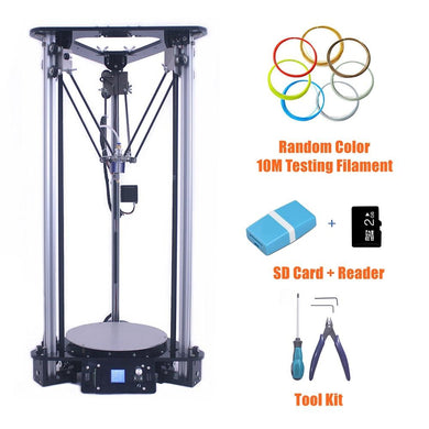 Smart Leveling Metal Kossel DIY Delta 3D Printer Kit with 1kg filament - Science On Supply
