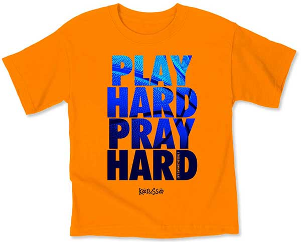 Play Hard Kids T-Shirt - Science On Supply