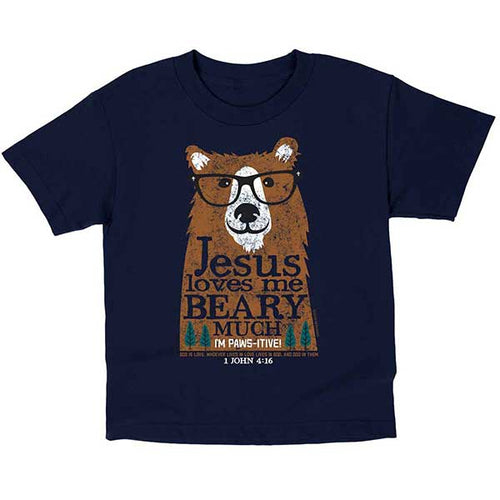 Beary Much Kids T-Shirt - Science On Supply