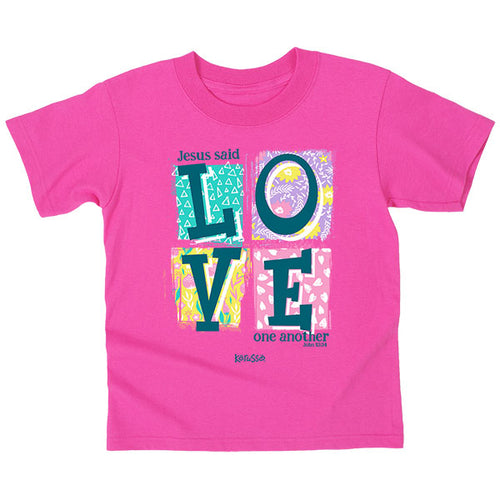 Love Blocks Kids T-Shirt - Science On Supply