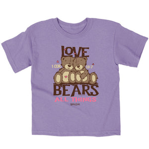 Love Bears Kids T-Shirt - Science On Supply