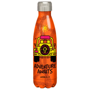 Kerusso® Adventure Awaits Stainless Steel Water Bottle - Science On Supply