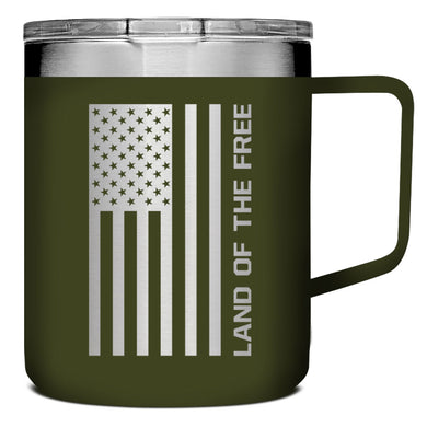 Kerusso Land Of The Free Stainless Steel Mug With Handle - Science On Supply