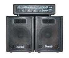Load image into Gallery viewer, Danville PA System Amp & Speakers (PA-4080) - Science On Supply