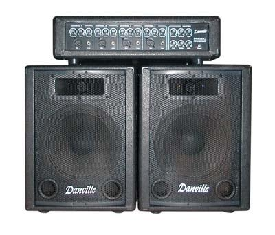 Danville PA System Amp & Speakers (PA-4080) - Science On Supply