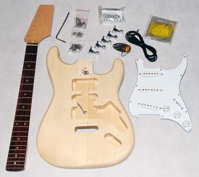 Build Your Own Guitar (S-KIT) - Science On Supply
