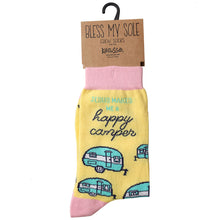 Load image into Gallery viewer, Kerusso Socks Happy Camper - Science On Supply