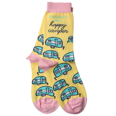 Kerusso Socks Happy Camper - Science On Supply