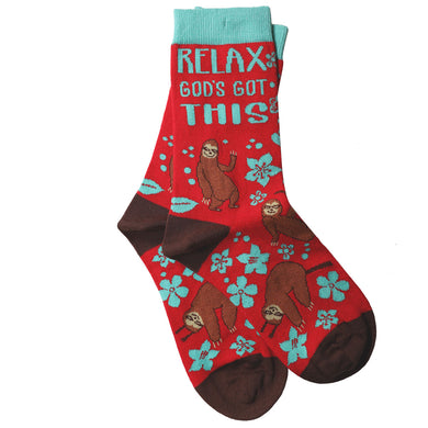 Kerusso Socks Relax Sloth - Science On Supply