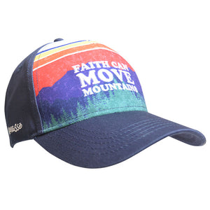 Kerusso® Christian Hat Faith Can Move Mountains - Science On Supply