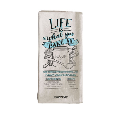 grace & truth Bake It Tea Towel - Science On Supply