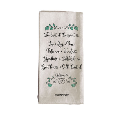 grace & truth Fruit Tea Towel - Science On Supply