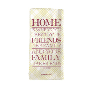 grace & truth Home Friends Family Tea Towel - Science On Supply