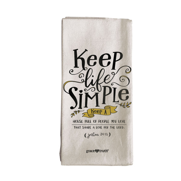 grace & truth Simple Tea Towel - Science On Supply