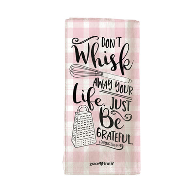grace & truth Whisk Tea Towel - Science On Supply