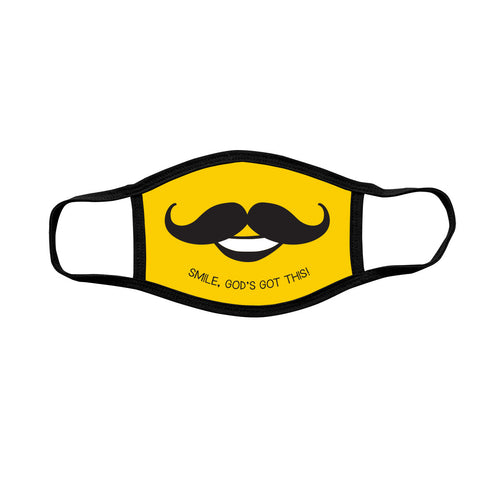 Kerusso Youth Face Mask Mustache - Science On Supply