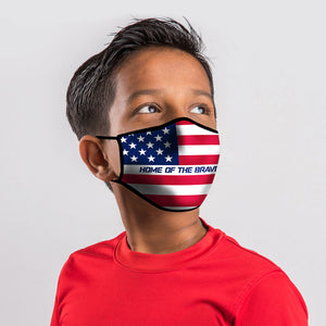 Kerusso Youth Face Mask Flag - Science On Supply