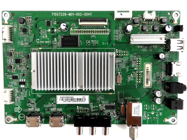 Insignia ns-39dr510na17 Main Board ( 715G7228-M01-002-004Y ) - Science On Supply