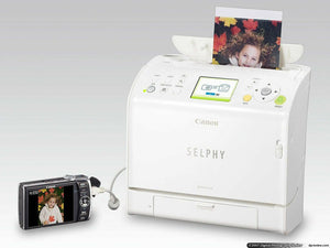 Canon SELPHY ES2 Compact Photo Printer W/ Manual, Original Box And Power Cord - Science On Supply