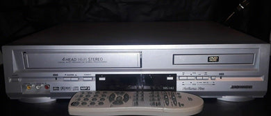 Sansui DVD/VCR Combo With Remote ( VRDVD4000 ) - Science On Supply