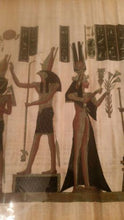 Load image into Gallery viewer, Isis Original Papyrus Painting | Ra Papyrus Institute - Science On Supply