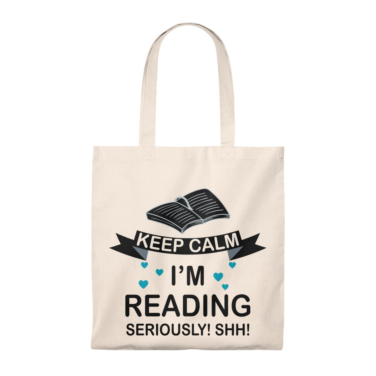 Keep Calm I'm Reading Tote Bag