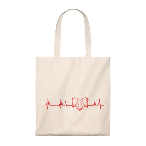 Book Beat Tote Bag