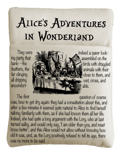 Alice's Adventures In Wonderland Book Sleeve