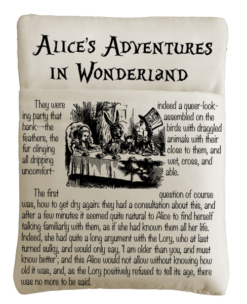 Alice's Adventures In Wonderland Grande Book Sleeve