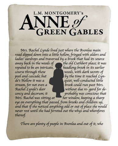 Anne of Green Gables Book Sleeve