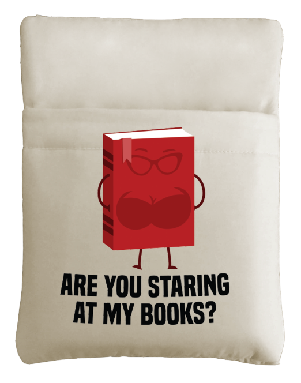 1 Are You Staring At My Books? and 3 Different Funny Patterns Grande Book Sleeve