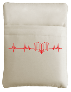 Heart Beat Book Sleeve