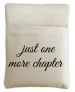 Just One More Chapter Book Sleeve