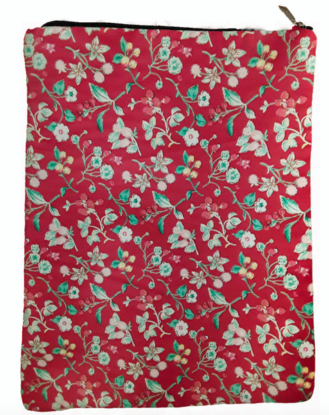 Petite Floral Book Sleeve - 100% Cotton Fabric